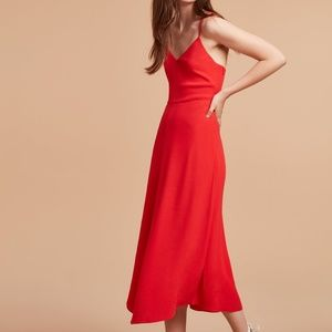 NWT wilfred angelique dress from aritzia - size m